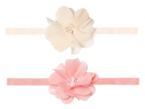Haarband mit Blume 2 Farben