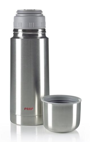 reer 90300.08 Edelstahl Isolier-Flasche, 350 ml