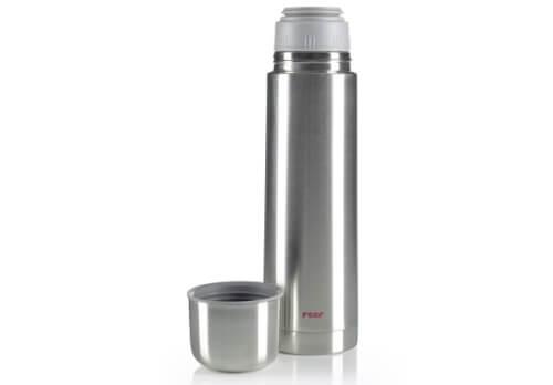 reer 90700.08 Edelstahl Isolier-Flasche, 750 ml