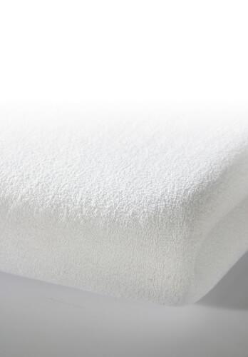 ALVI Spannlaken Trikot weiß ca. 40x90 cm Jersey