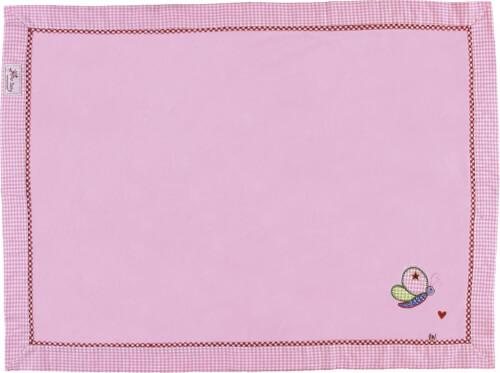 Die Spiegelburg - BabyGlück Kuscheldecke, rosa, ca. 75 x 100 cm, Fleecedecke