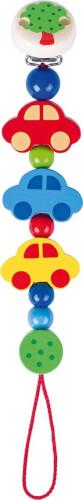 Schnullerkette Autos, ca. 21 cm