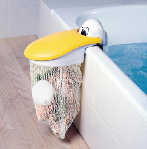 Rotho KidsKit Pelikan Badespielzeugsammler