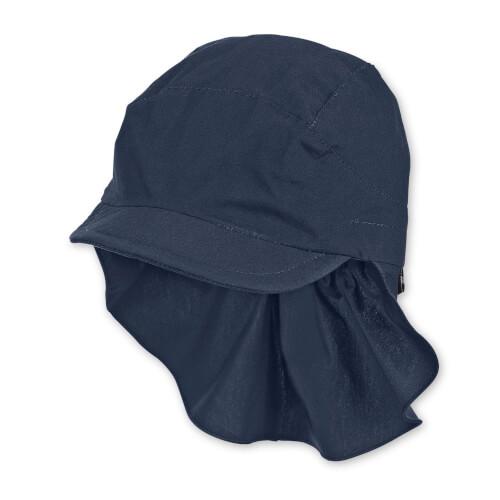 Sterntaler Schirmmütze mit Nackenschutz marine Gr.49