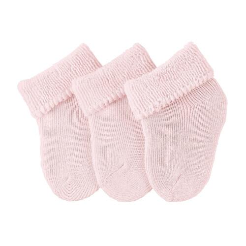 Sterntaler Erstlingssöckchen 3er-Pack rosa Gr.0
