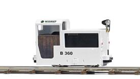 Lokomotive B360 weiß       H0