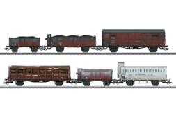 Märklin 46088 Güterwag-Set,6 Wag.gealt.DRG