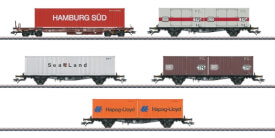 Märklin 47689 H0 Containertragwagen-Set DB