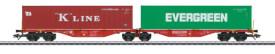 Märklin 47800 H0 Doppel-Tragwagen DB Cargo