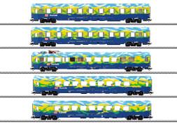 Märklin 43878 H0 Personenwagen-Set Touristik-Zug DB AG