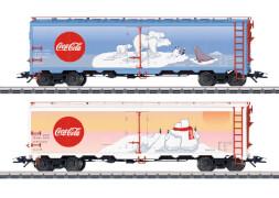 Märklin 45687 H0 Kühlwagen-Set Coca Cola