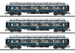 Trix T23220 H0 Schnellzugwagen -Set 2 Simplon-Orient-Ex