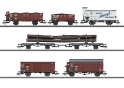 Märklin 46017 H0 Güterwagen-Set zur Dampflokomotive BR 95