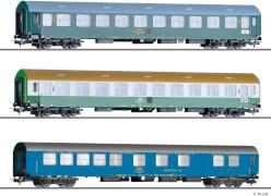 H0 Reisezugwagenset Vindobona 3, DR/CSD, Ep. IV