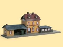 H0 Startset Bahnhof Wachstädt H0