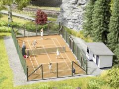 H0 Themen-Set Tennisplatz