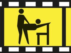 H0-Liebesakt Stuhl