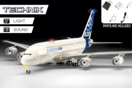 REVELL Airbus A380-800 - Technik