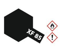 XF-85 Gummi-schwarz matt 10ml Acryl (6)