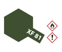 XF-81 Dunkel Grün 2 RAF matt 10ml(VE 6)