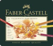 Faber-Castell KUENSTLERFARBST.24ERMET.ETUI