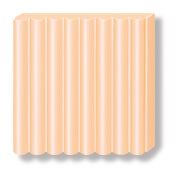 FIMO peach pastell soft effect