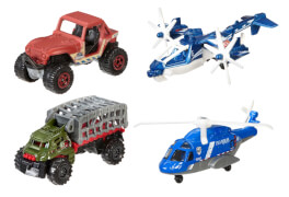 Mattel Matchbox Jurassic World Land- & Lufteinsatz