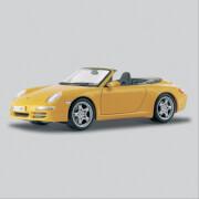 1:18 Porsche 911 Carrera Cabr. gelb