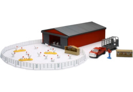 Schweine und Hühner Farm Set