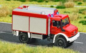 H0 Mercedes Unimog Feuerwehr
