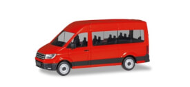 VW Crafter Bus HD, rot