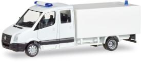 MiKi VW Crafter m. Koffer,weiß