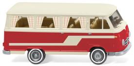 Wiking Borgward Campingbus B611 - perlweiß/rot