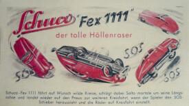 Schuco Fex 1111, braun/orange