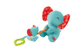 Mattel Aufziehspaß Elefanten