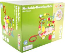 Kleinkindspielzeug Motorik Motorikschleife Goki 59982