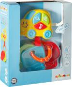 SpielMaus Baby Autoschlüssel mit Sound, ca. 15,5x18,3x 5 cm, ab 6 Monaten