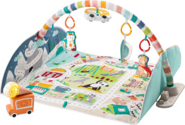 Mattel GJD41 Fisher-Price Jumbo Abenteuer Spieldecke