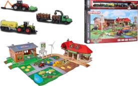 Majorette Creatix Big Farm + 5 vehicles