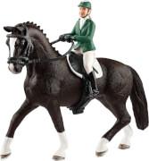 Schleich Horse Club - 42358 Springreiterin mit Pferd, ab 3 Jahre