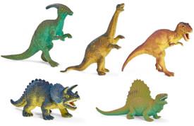 Dinosaurier, 6-fach sortiert