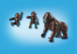 PLAYMOBIL 6639 Gorilla mit Babys