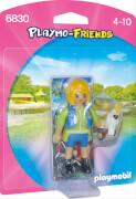 Playmobil 6830 Tiertrainerin mit Kakadu