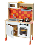 Beluga 20225 Spielküche aus Holz, 100 cm hoch