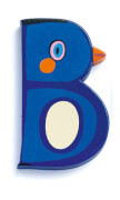 B - Tier Holzbuchstaben