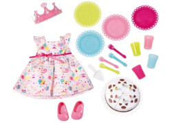 Zapf BABY born® Deluxe Party Set, ab 3 Jahren