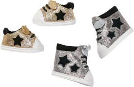 Zapf BABY born® Trend Chucks silber & gold, sortiert