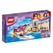 LEGO® Friends 41316 Andreas Rennboot Transporter, 309 Teile