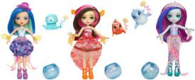 Mattel FKV54 Enchantimals Puppe mit Farbwechsel, sortiert