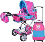 Puppen Kombiwagen Luke Mein Trolley Fee pink